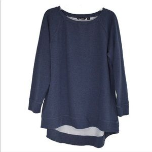 H BY HALSTON Cozy Soft Pullover Long Sleeve Top 1X